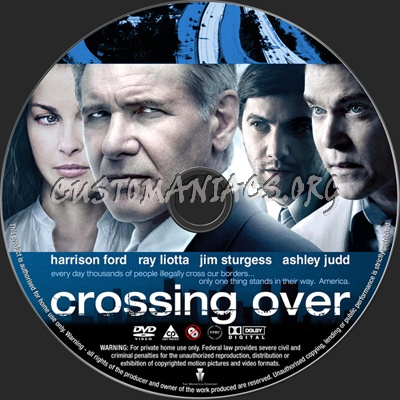 Crossing Over dvd label