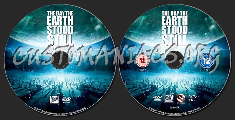 The Day The Earth Stood Still Dvd Label