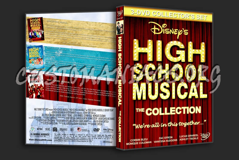 High School Musical Triple Feature dvd cover