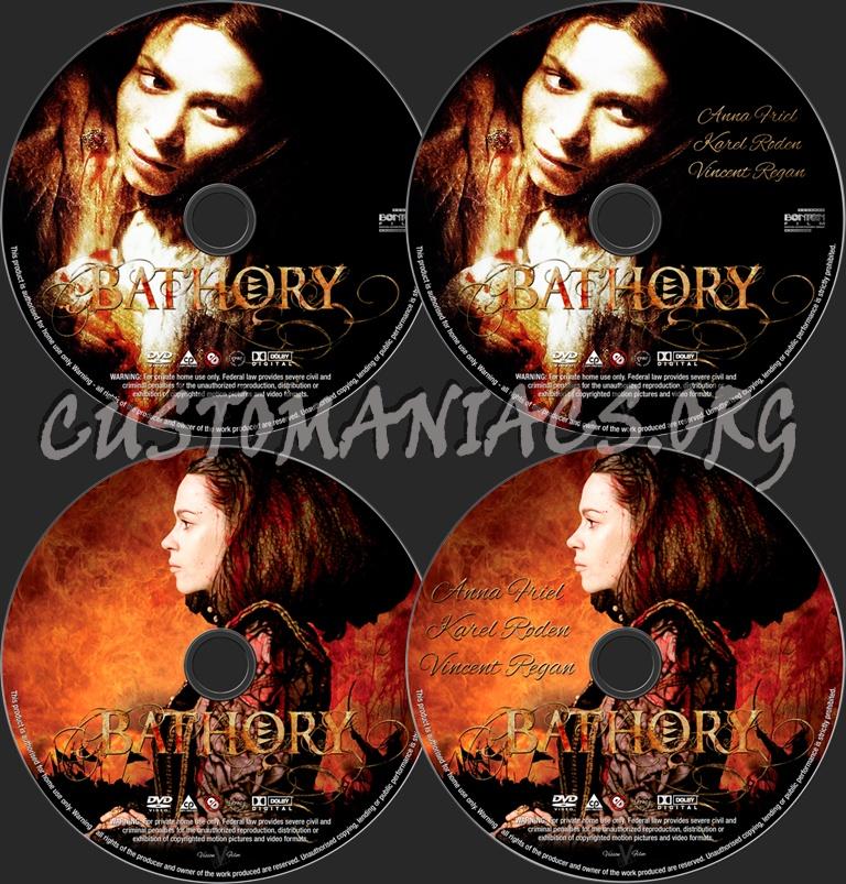 Bathory dvd label