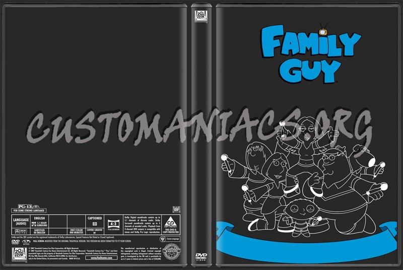 Fox Family Guy dvd label