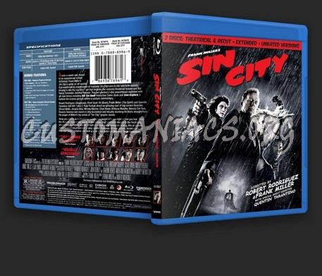 Sin City blu-ray cover