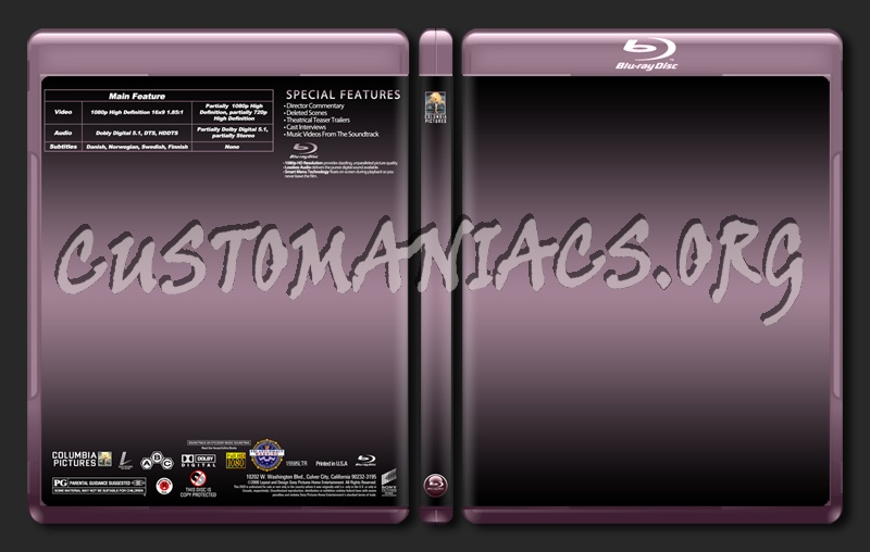 Sony-Columbia Blu-Ray dvd label