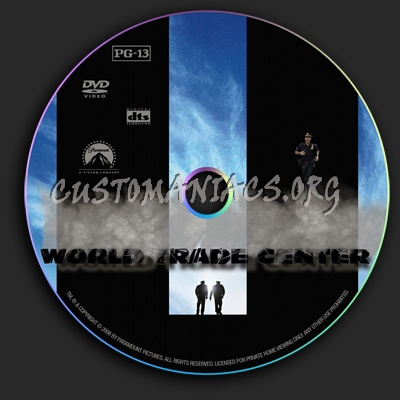 World Trade Center dvd label
