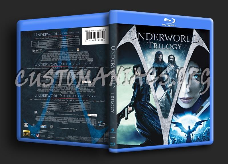 Underworld trilogy blu-ray cover