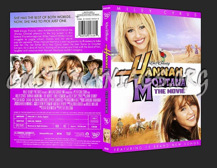 Hannah Montana: The Movie dvd cover