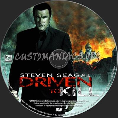 Driven to Kill dvd label