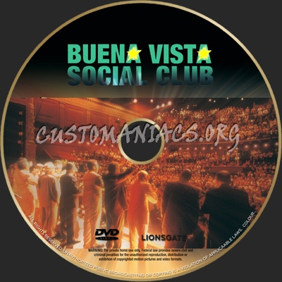 Buena Vista Social Club Dvd Label Dvd Covers Labels By Customaniacs Id 62776 Free Download Highres Dvd Label