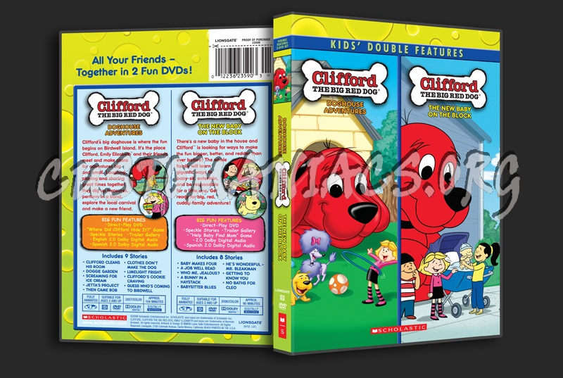 Clifford The Big Red Dog Doghouse Adventures And The New Baby On