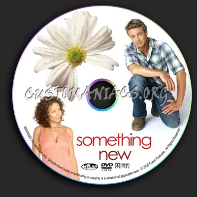 Something New dvd label