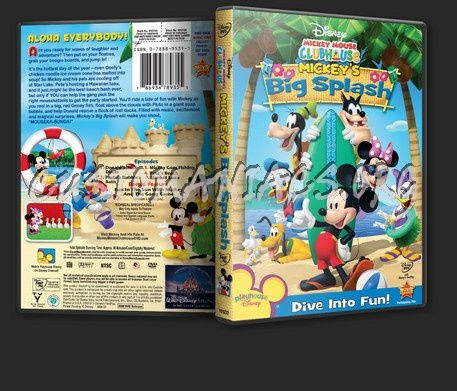 Mickey Mouse Clubhouse Mickey's Big Splash dvd cover