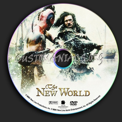 New World, The dvd label