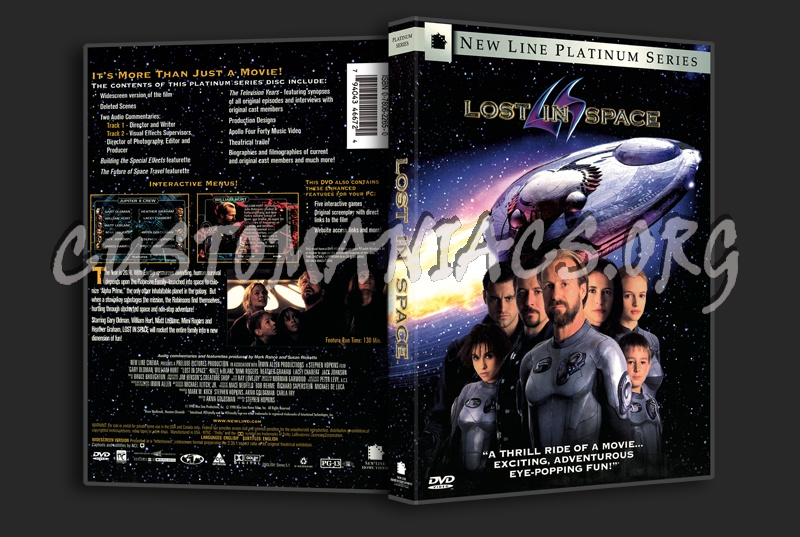 Lost In Space dvd cover
