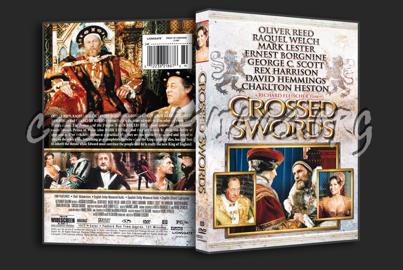 Crossed Swords dvd cover