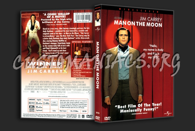 Man On The Moon dvd cover