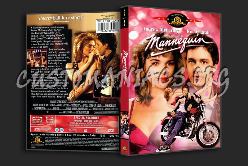 Mannequin dvd cover