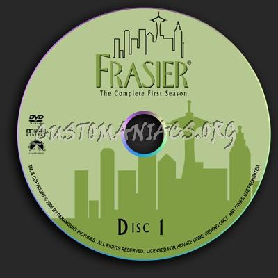 Frasier - Season 1 dvd label