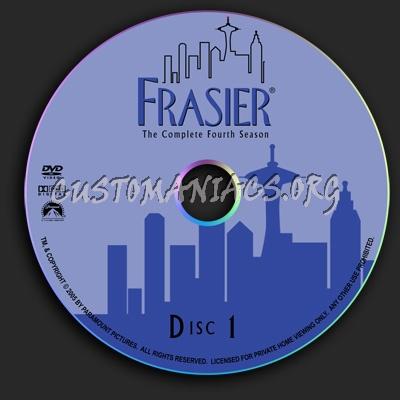 Frasier - Season 4 dvd label