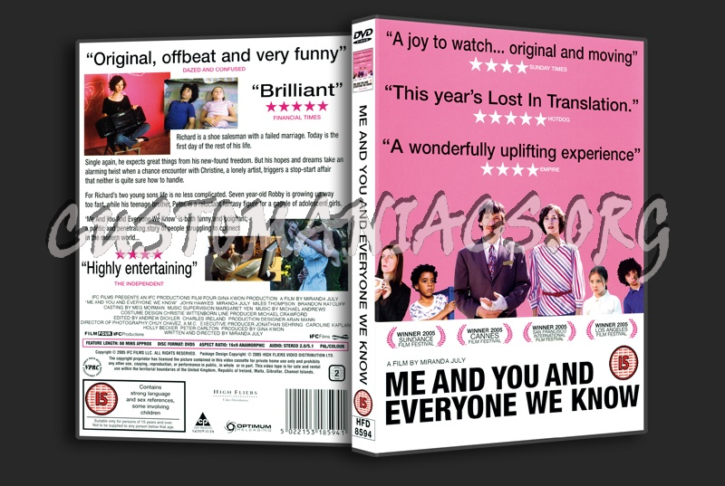 Me And You And Everyone We Know dvd cover