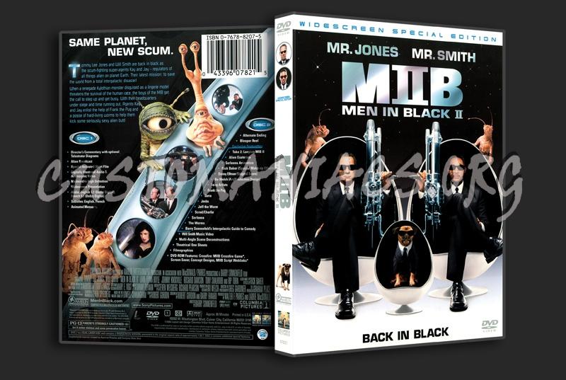 Men In Black II dvd cover