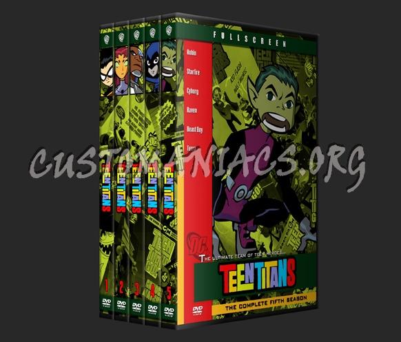 Teen Titans dvd cover