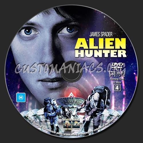 Alien Hunter dvd label