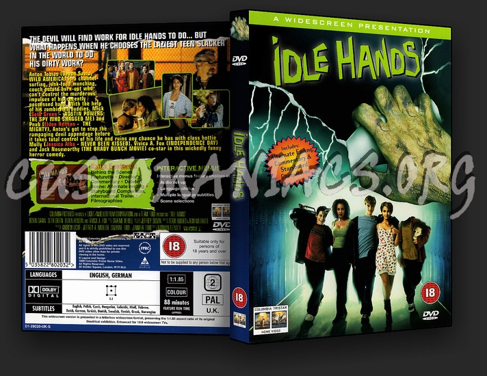 Idle Hands dvd cover