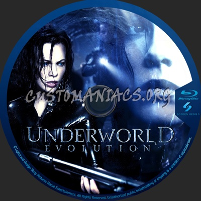 Underworld Collection blu-ray label