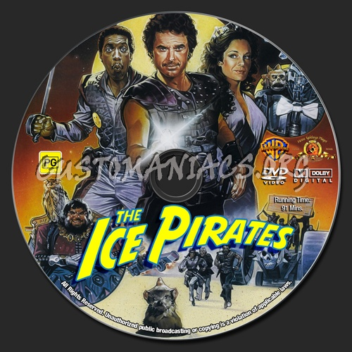 The Ice Pirates dvd label