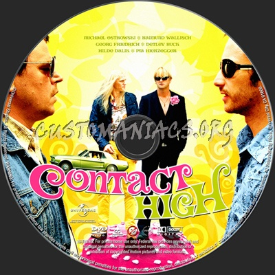 Contact High dvd label