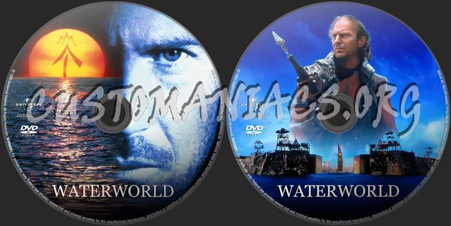 Waterworld dvd label