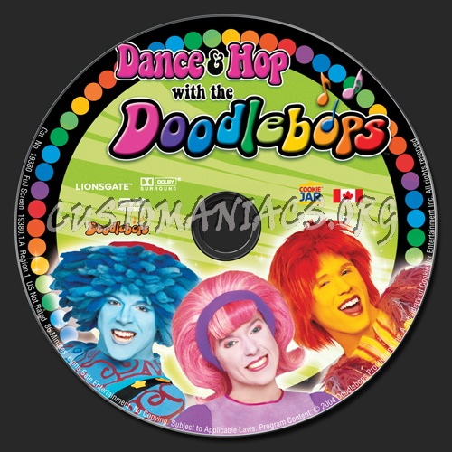 Dance & Hop with the Doodlebops dvd label