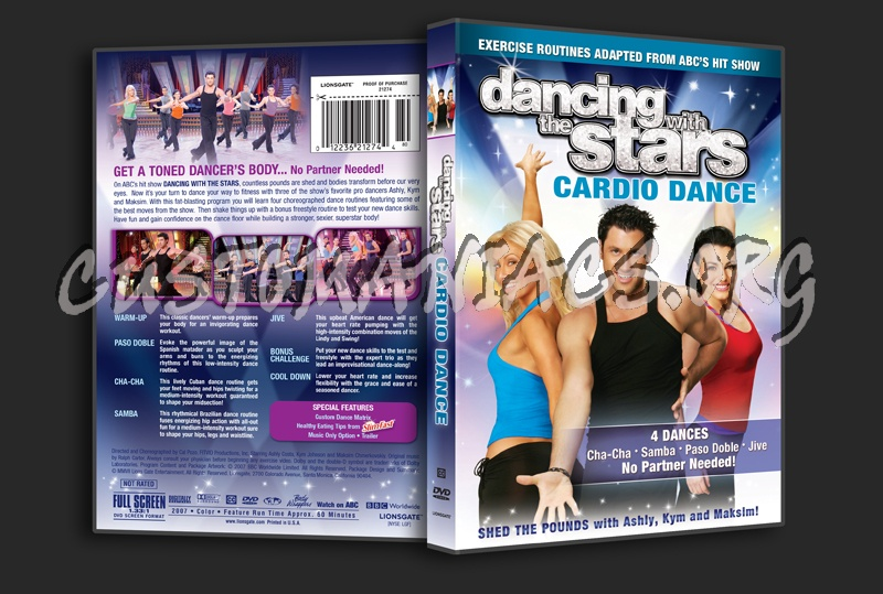 Dancing with the Stars Cardio Dance dvd cover