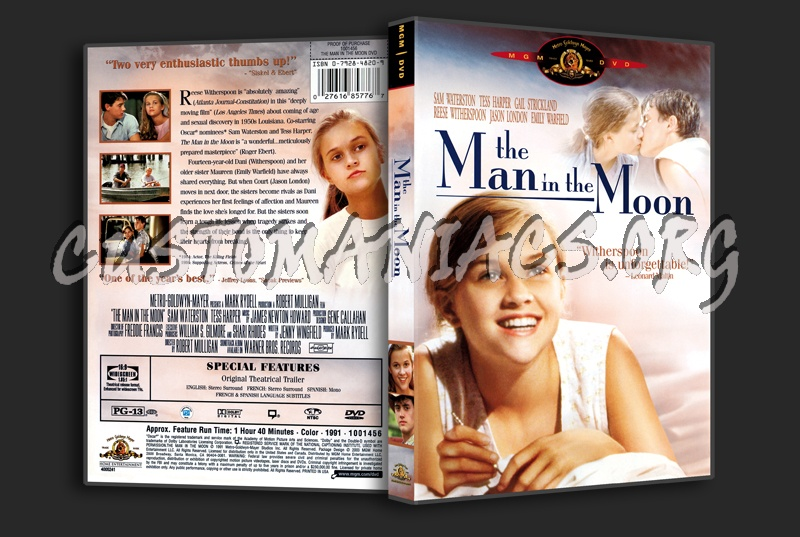The Man In The Moon dvd cover