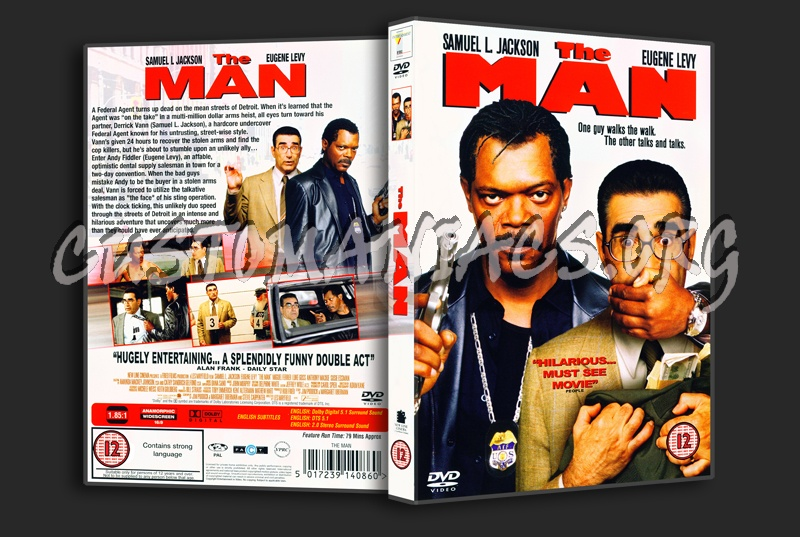 The Man dvd cover
