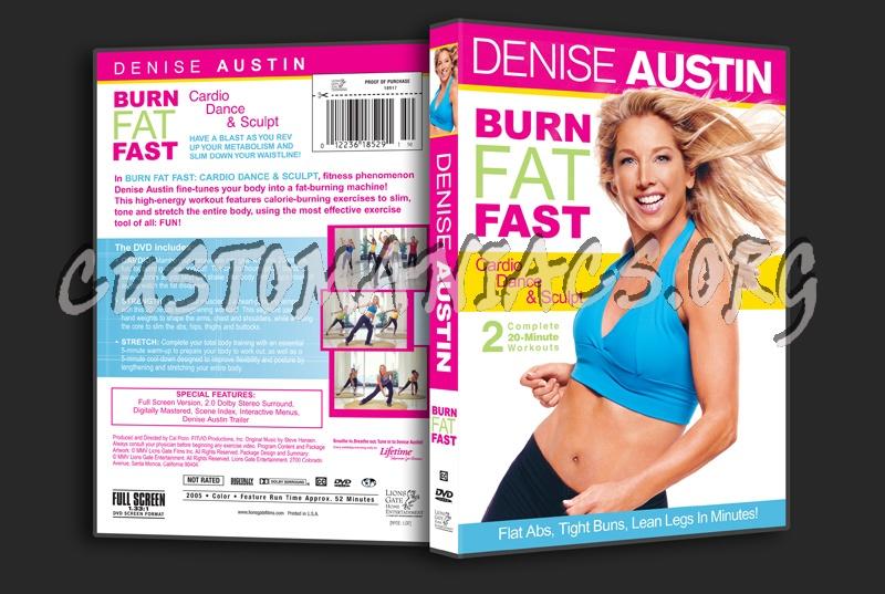 Denise Austin: Burn Fat Fast Cardio Dance & Sculpt dvd ...