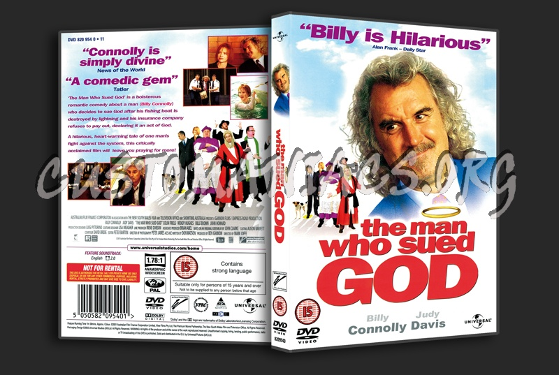 The Man Who Sued God dvd cover