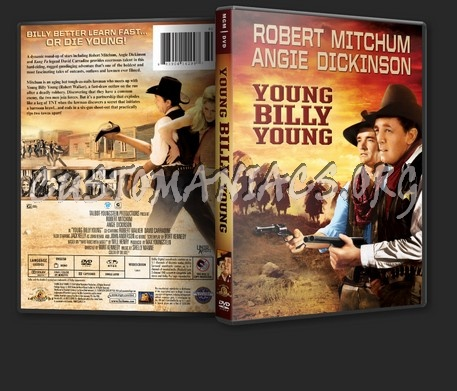 Young Billy Young dvd cover