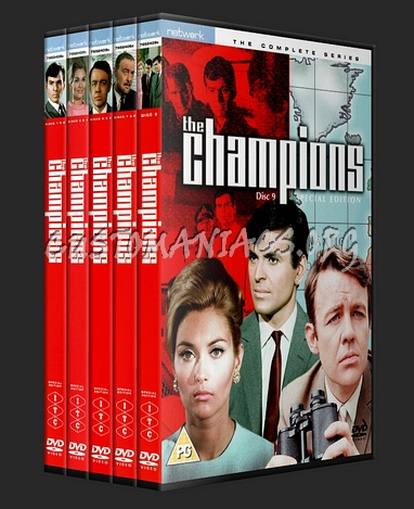 The Champions Complete Collection dvd cover