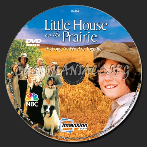 Little House on the Prairie As Long As We Are Together dvd label