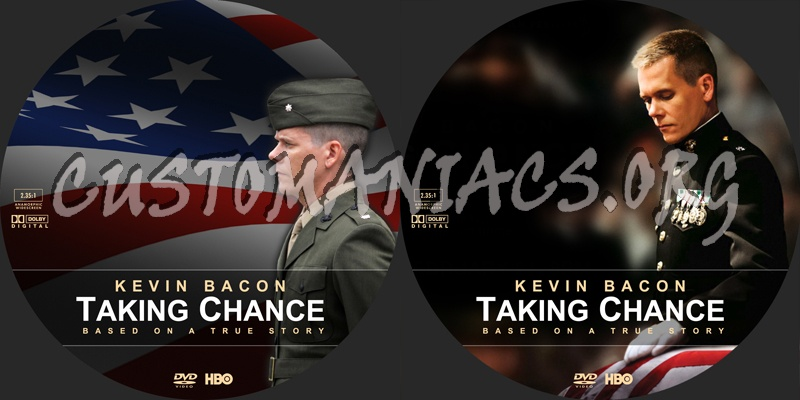 Taking Chance dvd label