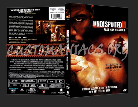 Undisputed 2 dvd cover
