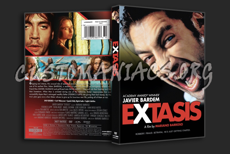 Extrasis dvd cover