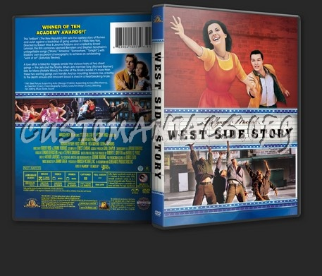 West Side Story (1961) dvd cover