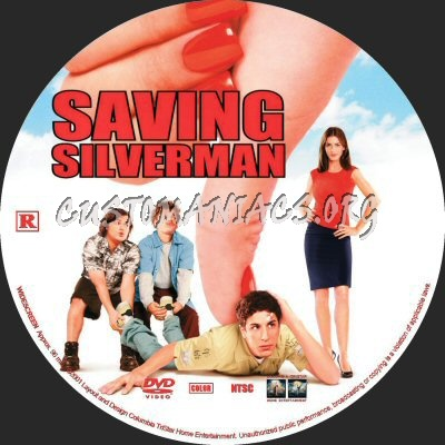 Saving Silverman dvd label