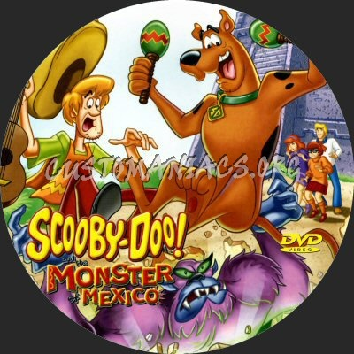 Scooby-Doo and the Monster of Mexico dvd label
