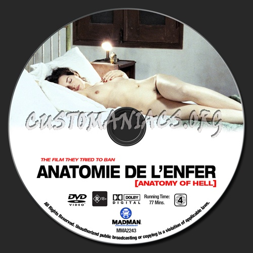 Anatomy Of Hell Anatomie De Lenfer Dvd Label Dvd Covers