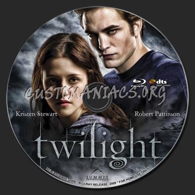 Twilight blu-ray label