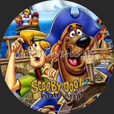 Scooby-Doo Pirates Ahoy dvd label