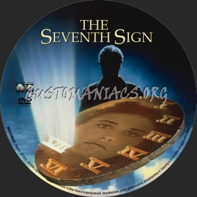 The Seventh Sign dvd label